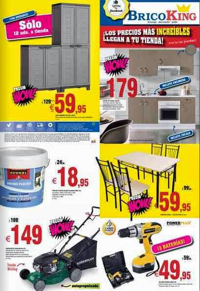 catalogo de ofertas bricoking del 22-7-14