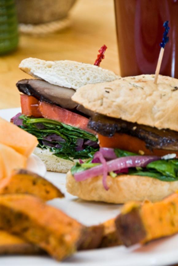 Sandwich De Portobello