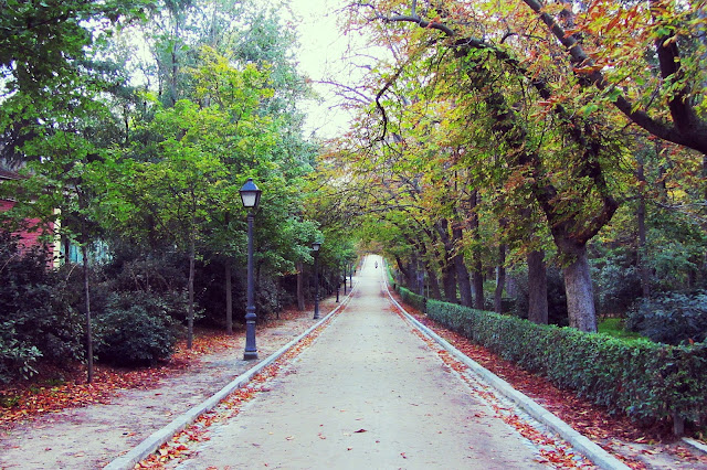 el retiro en otoño