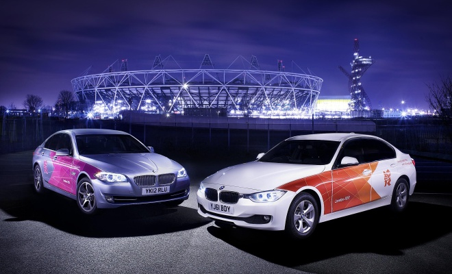 BMW Olympic cars