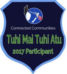 Tuhi Mai Tuhi Atu Badge 2017