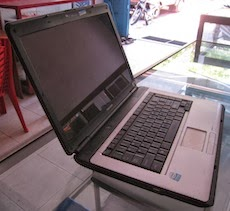 jual laptop 2nd toshiba l300