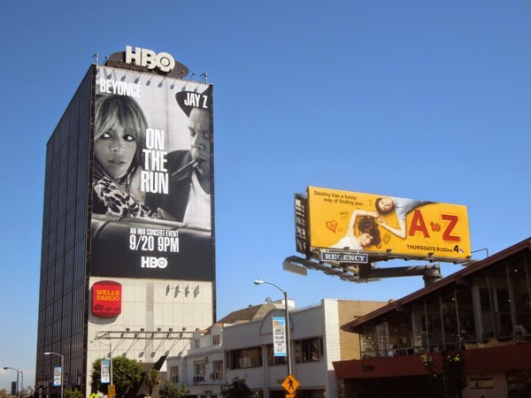 A to Z billboard
