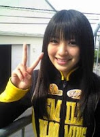 Rina Aizawa : Royama/Go-on Yellow in Engine Sentai Go-onger