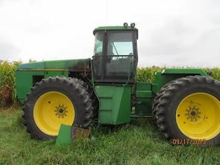 John Deere 8770 tractor parts