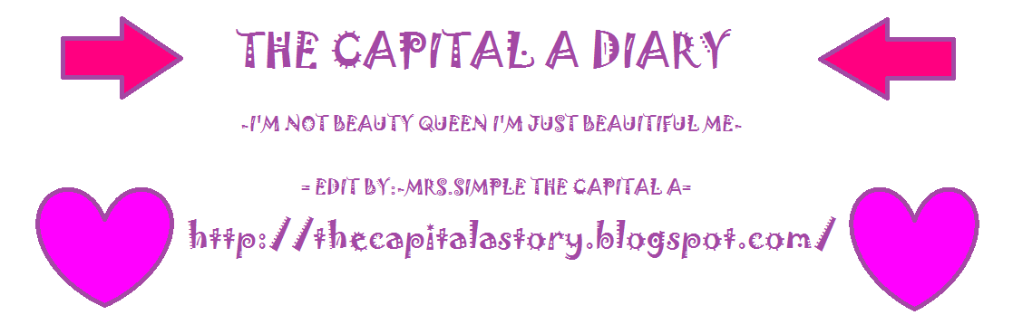 THE CAPITAL A DIARY