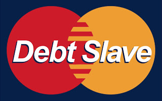 Counting Down the Final Moments of Debt Slavery: 3...2...1...  Debt+slave
