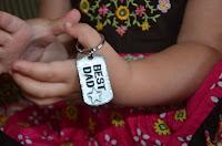 Best Dad key ring 1
