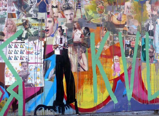 street art in santiago de chile paper arte callejero