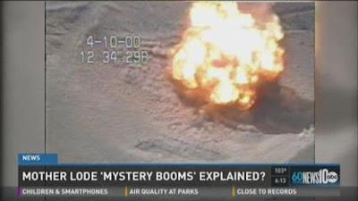 Misteri Dentuman Bumi di California telah Terpecahkan