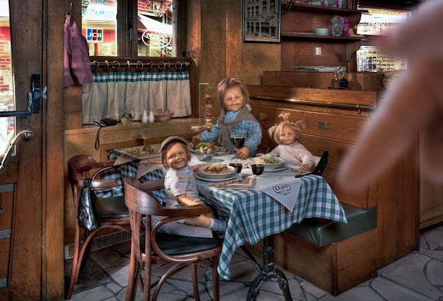 Frieke Janssens, project happiness, family dinner