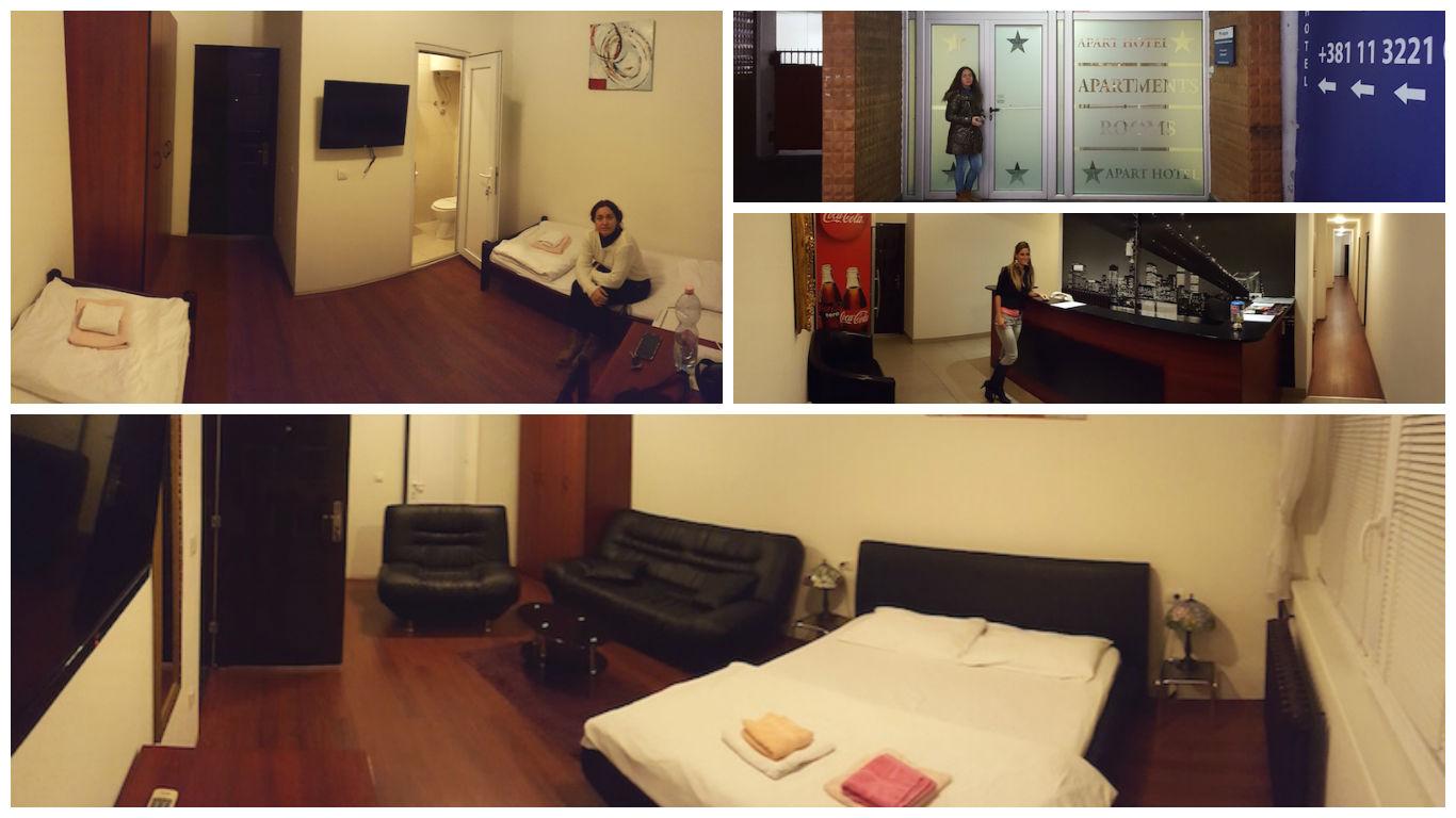 hoteles belgrado, hostel en Belgrado, apartamentos belgrado
