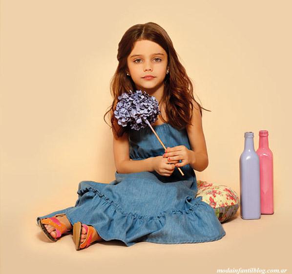 moda infantil verano 2014 nucleo nenas vestidos