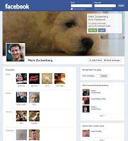 فيسبوك يقوم بإختبار تصميم جديد للواجهة الحالية التايم لاين