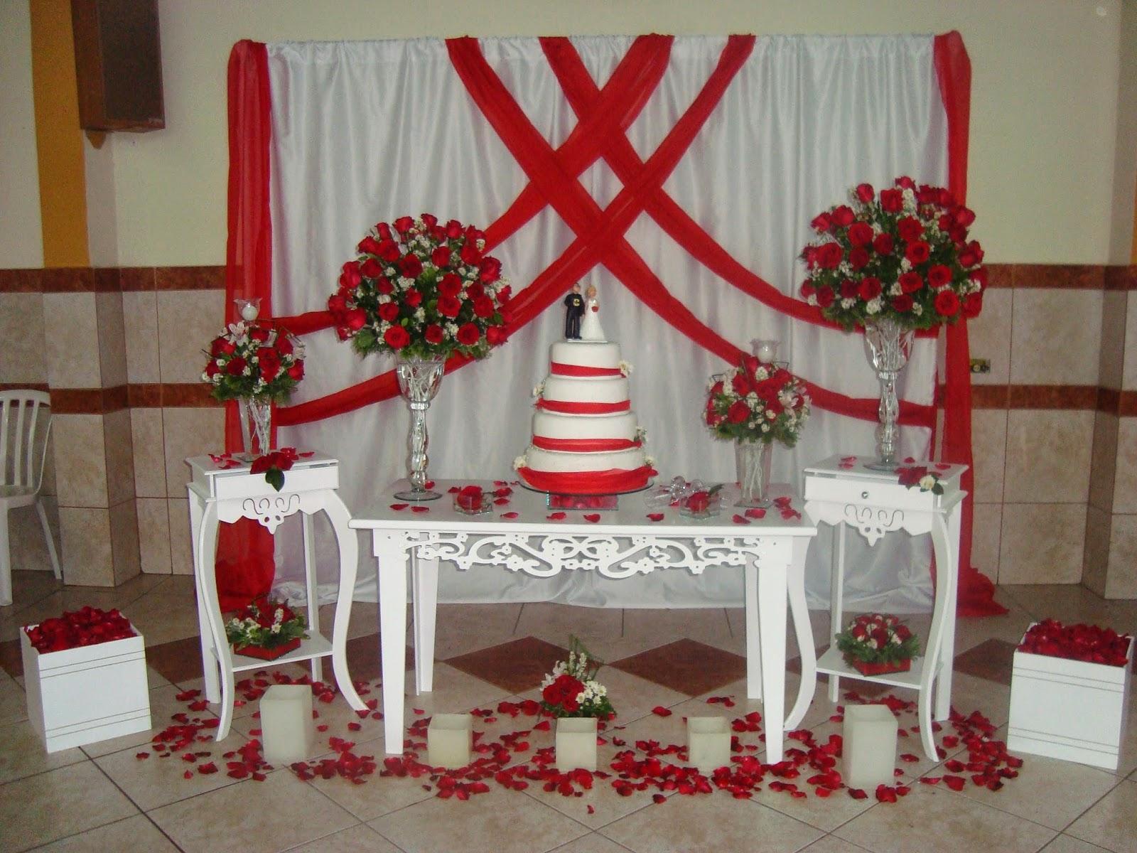 ... de casamento vermelho e branco # decoracao festa branco e vermelho