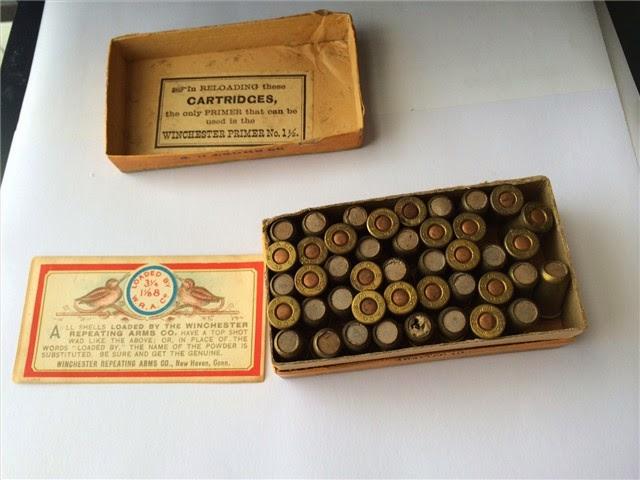Win. 32 Cal Short Shot Cartridges Center Fire