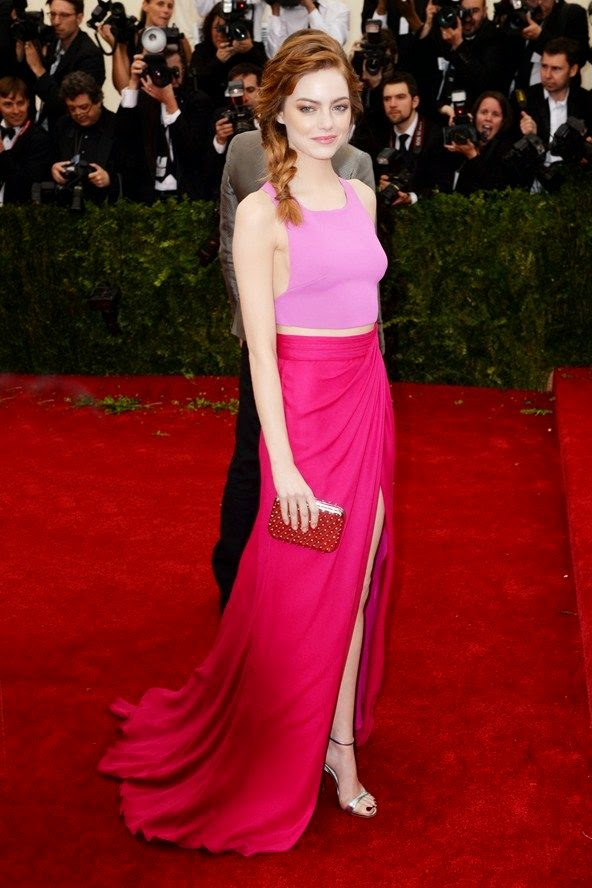 Met Ball 2014 Red Carpet Dresses, Outfits Photos (Vogue.com UK) find more mens fashion on lovely woman red dress & pink blouse