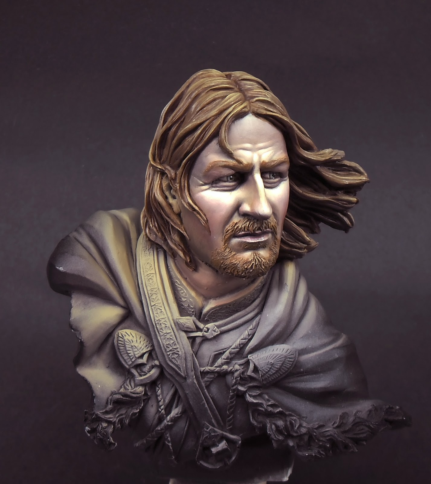 House of Ruano: Tutorial cara Boromir.