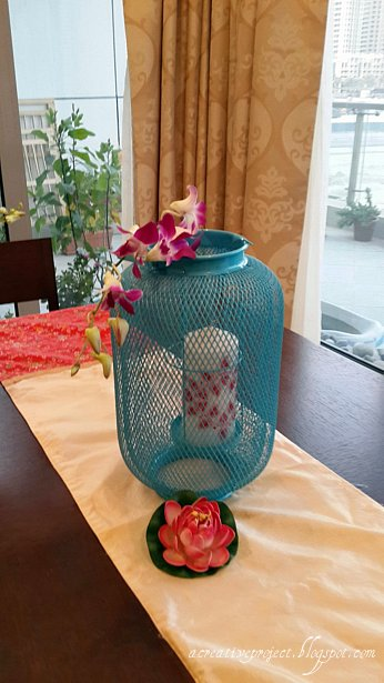 A creative project oriental table decoration - Decoration orientale pour table ...