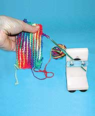 Crocheting Using Your Hands : ... designed for use by individuals with use of only one hand arthritis or