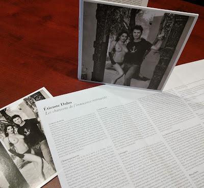 Les chansons de l'innocence retrouvée de Étienne Daho détail vinyl cd
