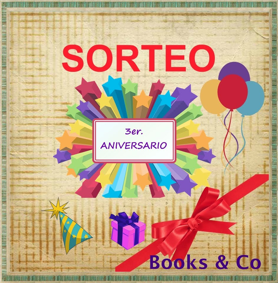 Sorteo aniversario en Books and co