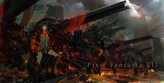 Anime Girl Mecha Robot Pixiv Fantasia HD Wallpaper Desktop Background