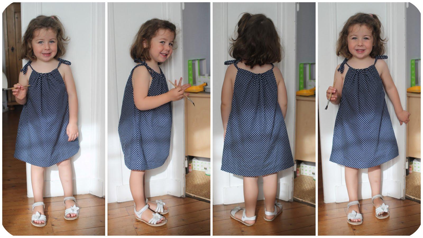 Fabriquer une robe pour petite fille