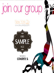 Each Month New Sample Sale @ NYC-Soho
