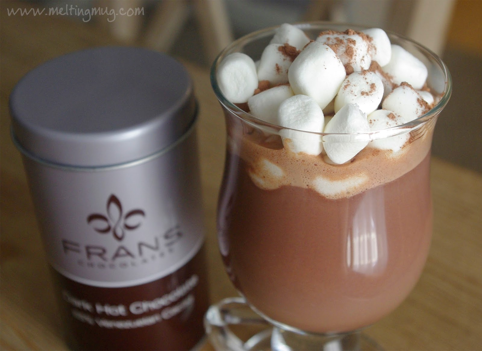 Melting Mug: Review - Fran's Dark Hot Chocolate