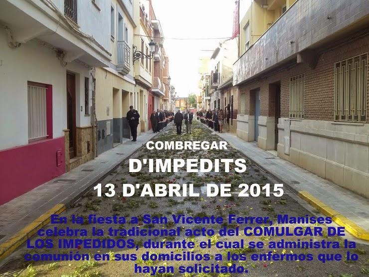EL COMBREGAR D'IMPEDITS EN MANISES.