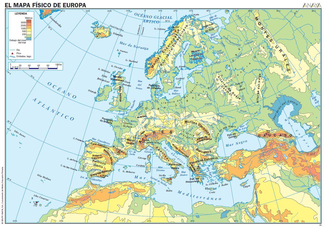 mi blog de CCSS Tema 3 El relieve de Europa