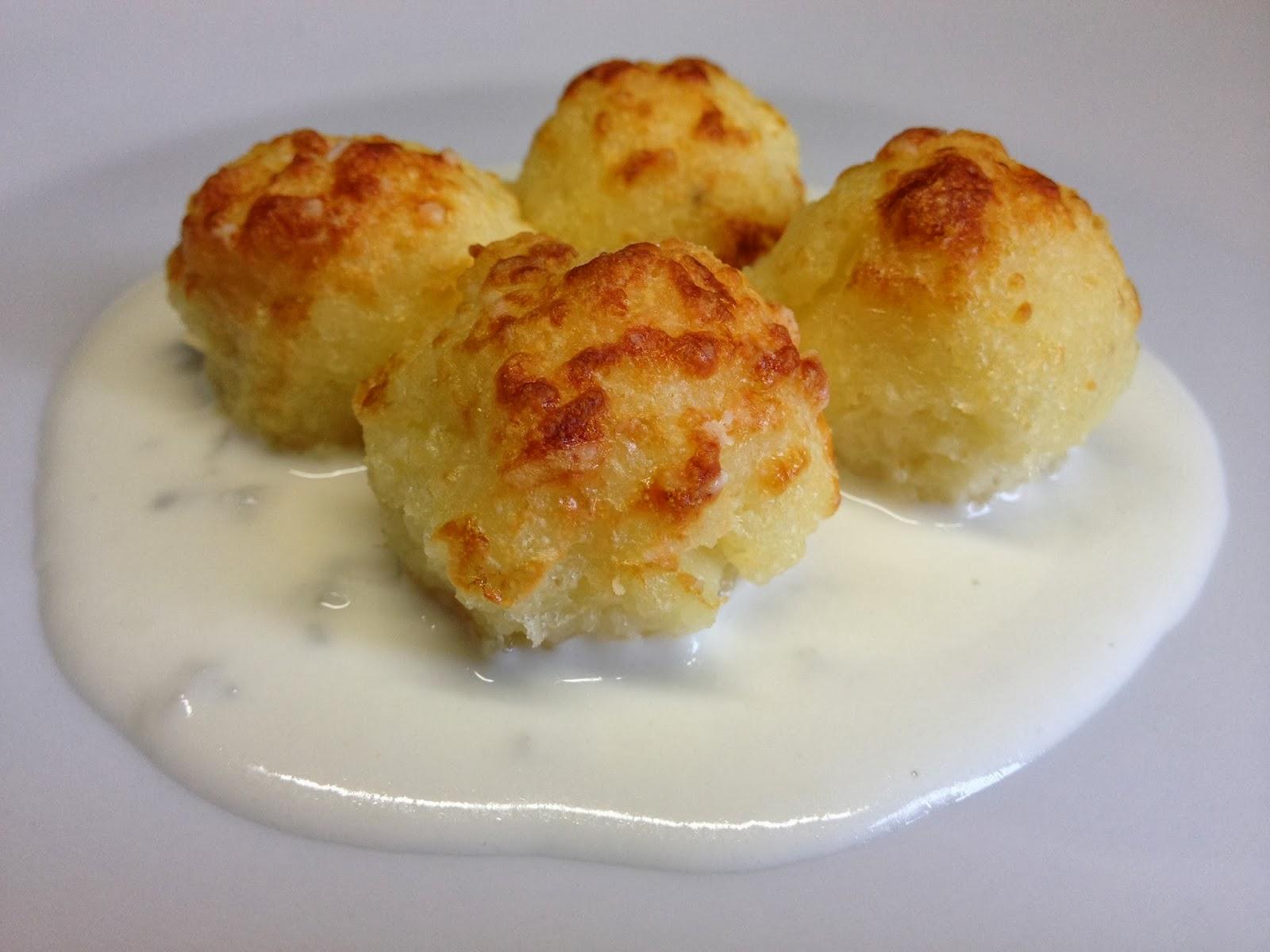 bon bon di semolino con crema al gorgonzola ed il gioco di san valentino parte terza