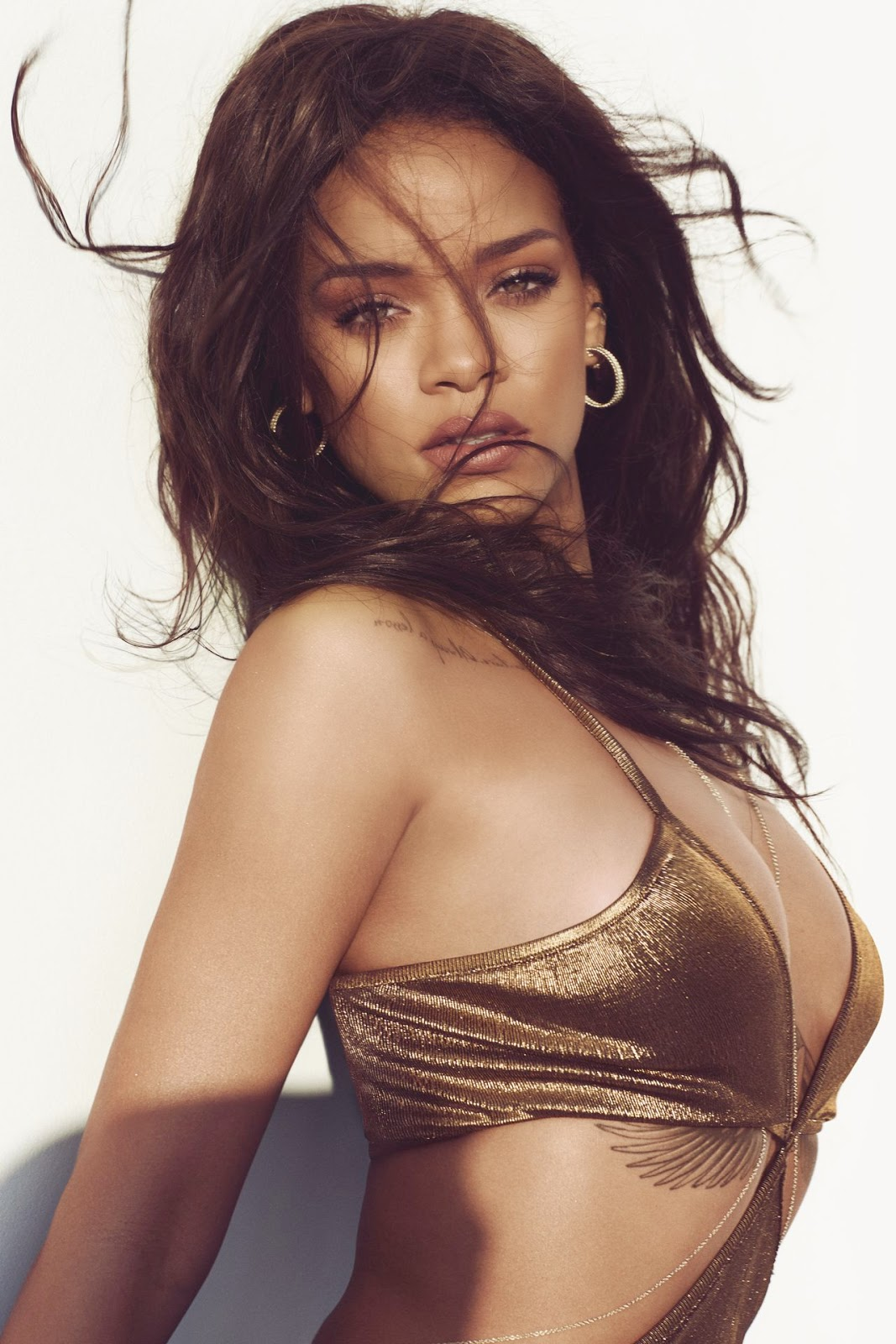 Rihanna - Harper's Bazaar US March 2015 edition