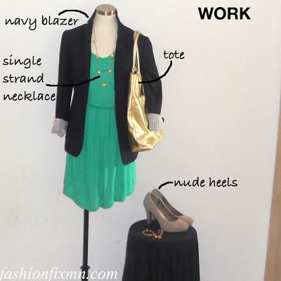 Shop, Style, Saveon, Green Dress