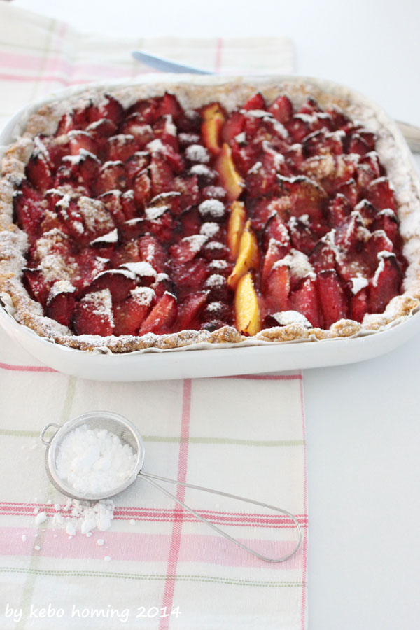 Backen, Südtiroler Foodblog, Pflaumenkuchen, Tarte, Crostata, Mürbteig