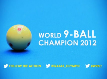 World 9 ball 2012 in doha qatar video teaser pml for Al sadd sports club swimming pool