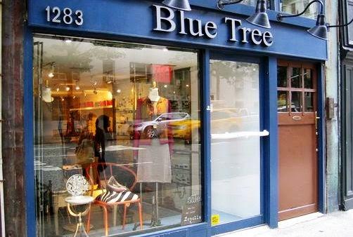 Boutique de brinquedos e souvenirs vintage Blue Tree em Nova York