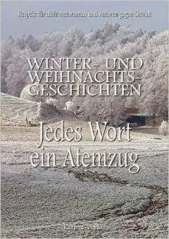 Winter- und Weihnachtsgeschichten. Cover zum Anthologiebuch.