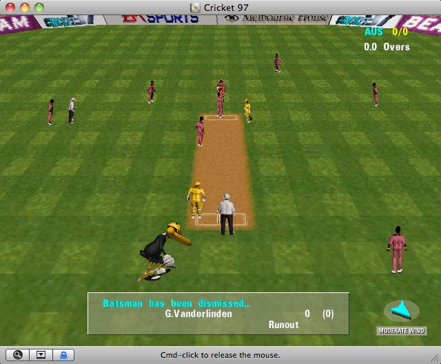 ea sports cricket 1999 game free