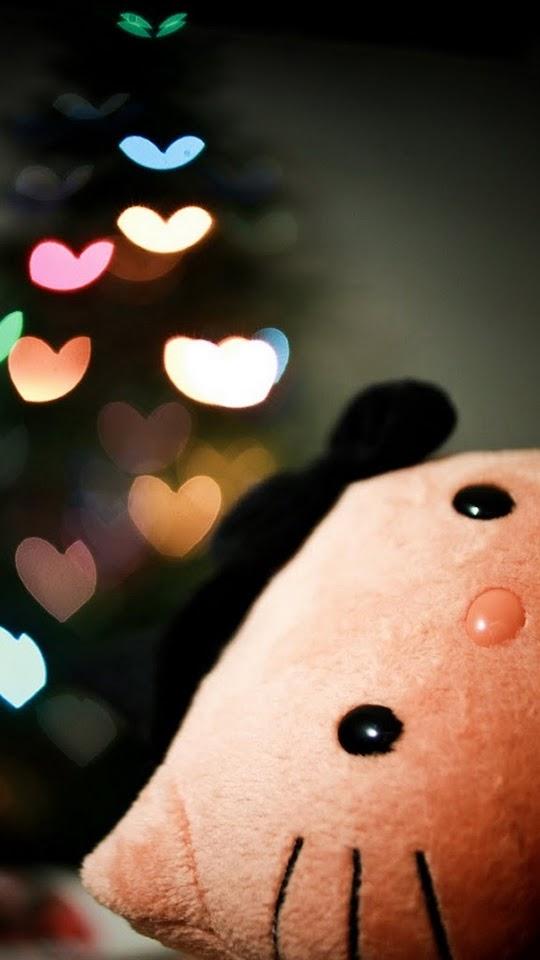 Hello Kitty Love Hearts  Galaxy Note HD Wallpaper