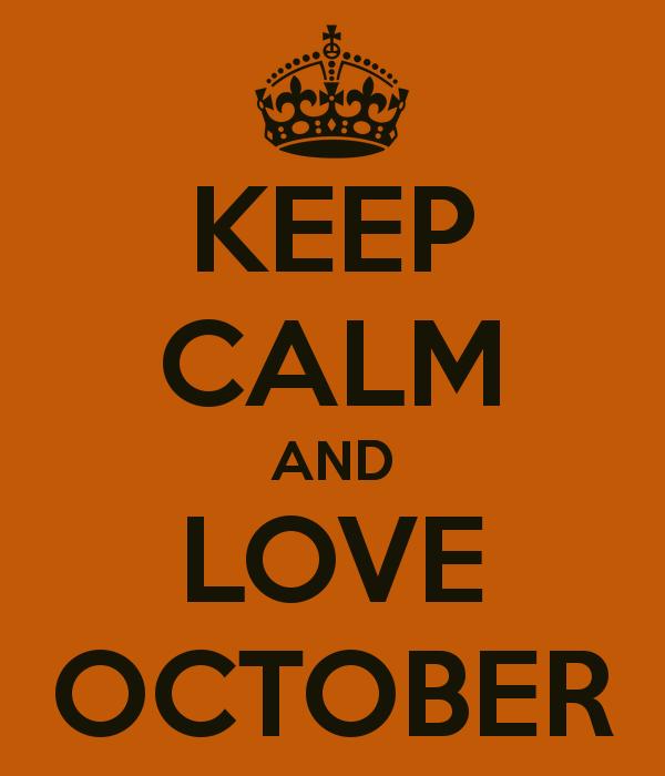 I Love October Because Hawktalk