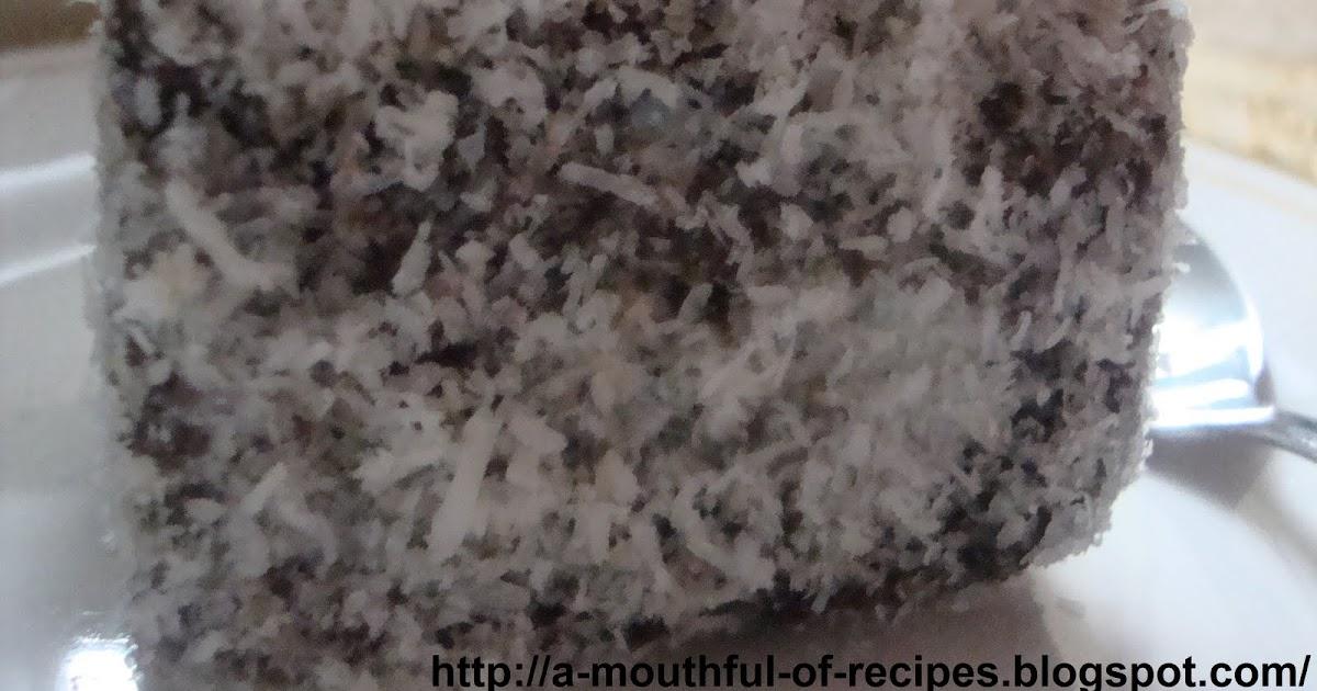 Continatal Sponge Cake Recipe With Almond Slivers