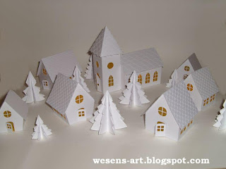 Winter Village 01     wesens-art.blogspot.com
