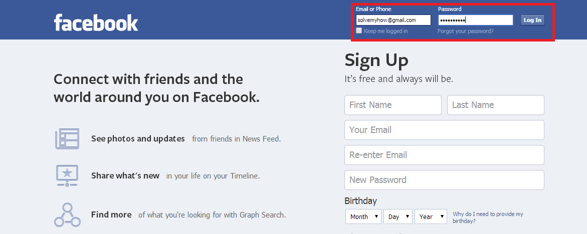 How to Hack Facebook Account (With Pictures) - Solve My How