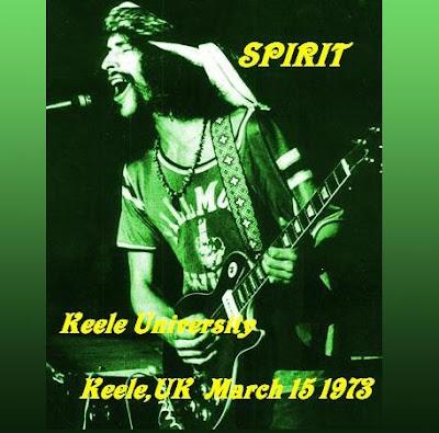 SPIRIT 1973-03-15 Keele, UK