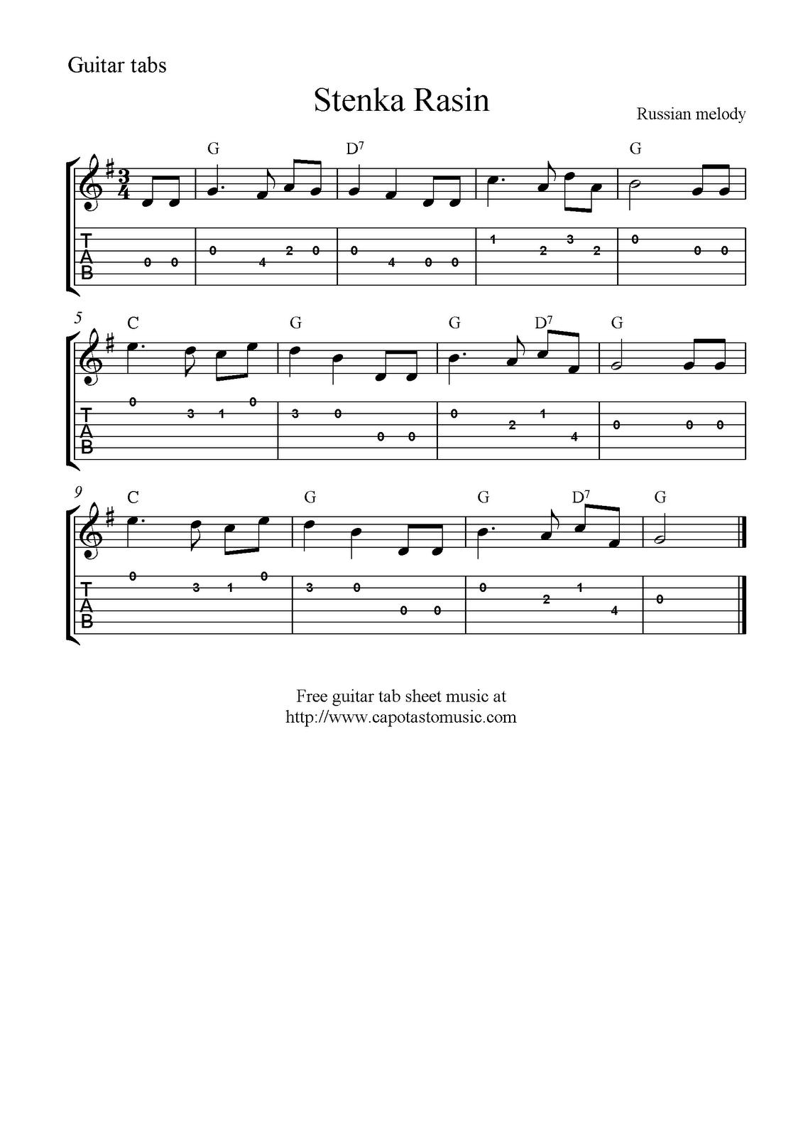 fur elise guitar tab pdf