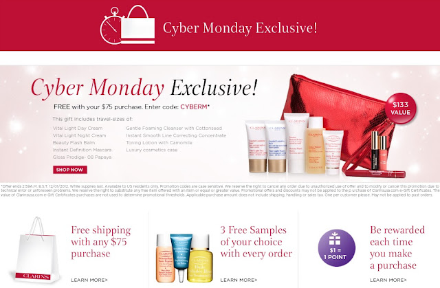 Clarins USA Free Shipping Policy. FREE standard shipping is offered on all orders that total more than $ All packages are sent by UPS. Grab your savings with verified Clarins USA free shipping code and coupons for November.