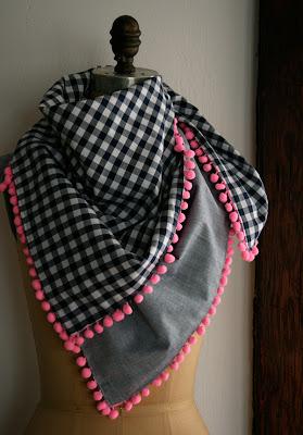 sew women scarf