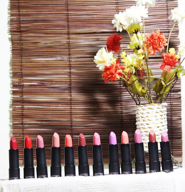 estrogen, estro lipsticks, hyaluronic lipsticks, lipstick swatches, thai makeup, thailand, asia, estro makeup, estro cosmetics